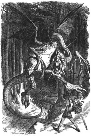 The Terrible Jabberwock